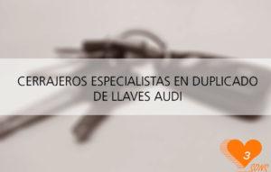Duplicado de llaves de Audi A1 A2 A3 A4 A5 y A6